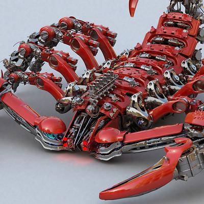 Ying te lien scorpion red