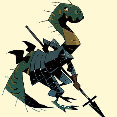 Satoshi matsuura 2018 09 03 lizard man s