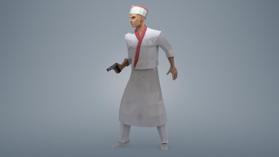 Lara bendoris chefgun01