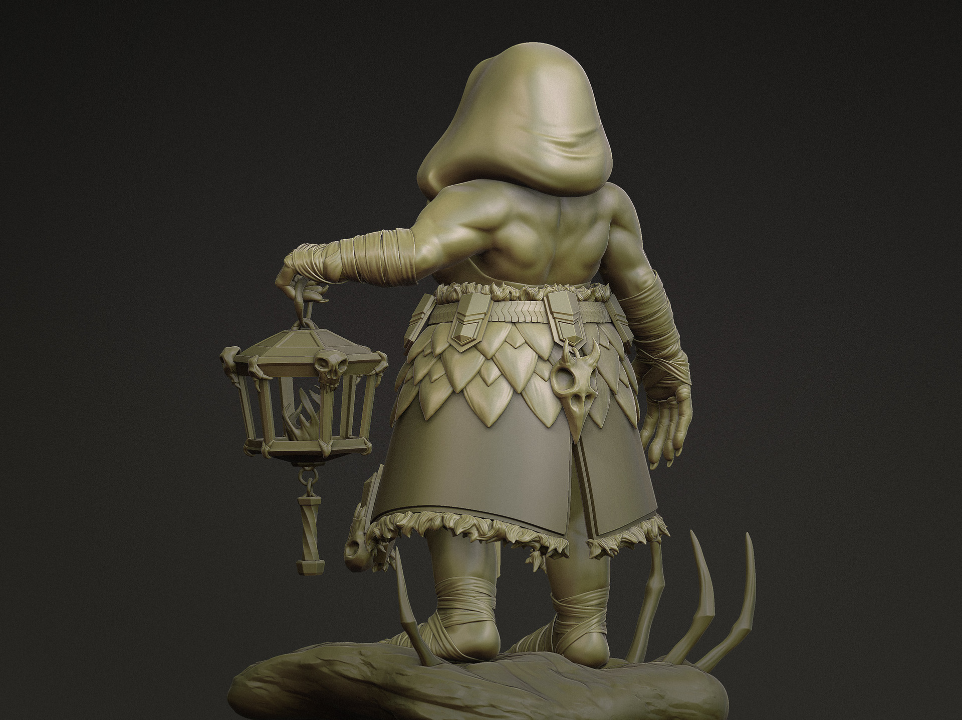 Rikke jansen dwarf sculpt fin back