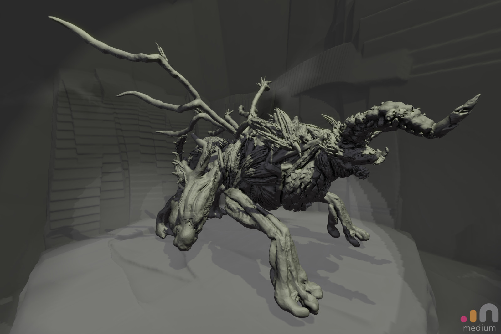 Initial Sketch in Oculus Medium