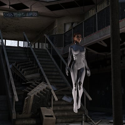 David roberson avonlea avm sci fi bodysuit mall ruin 03 1 as