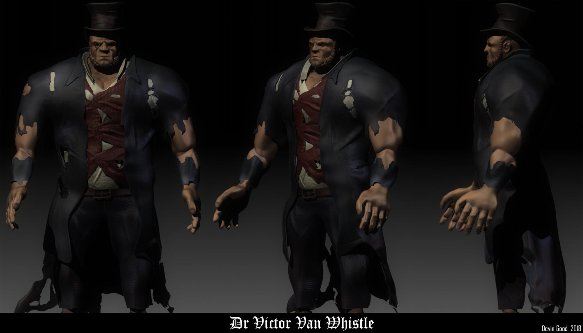 Victorian Villain Character #1