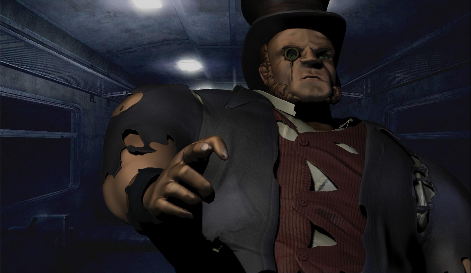Victorian Villain Character #3