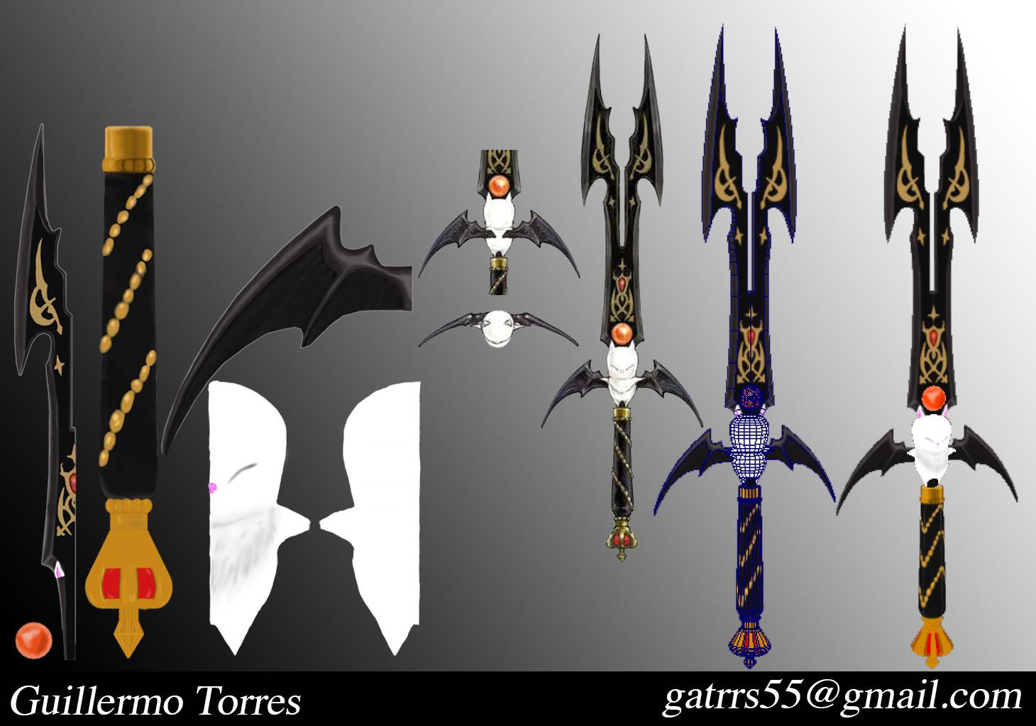 Guillermo Torres Ffxiv Ninja Moogle Weapon