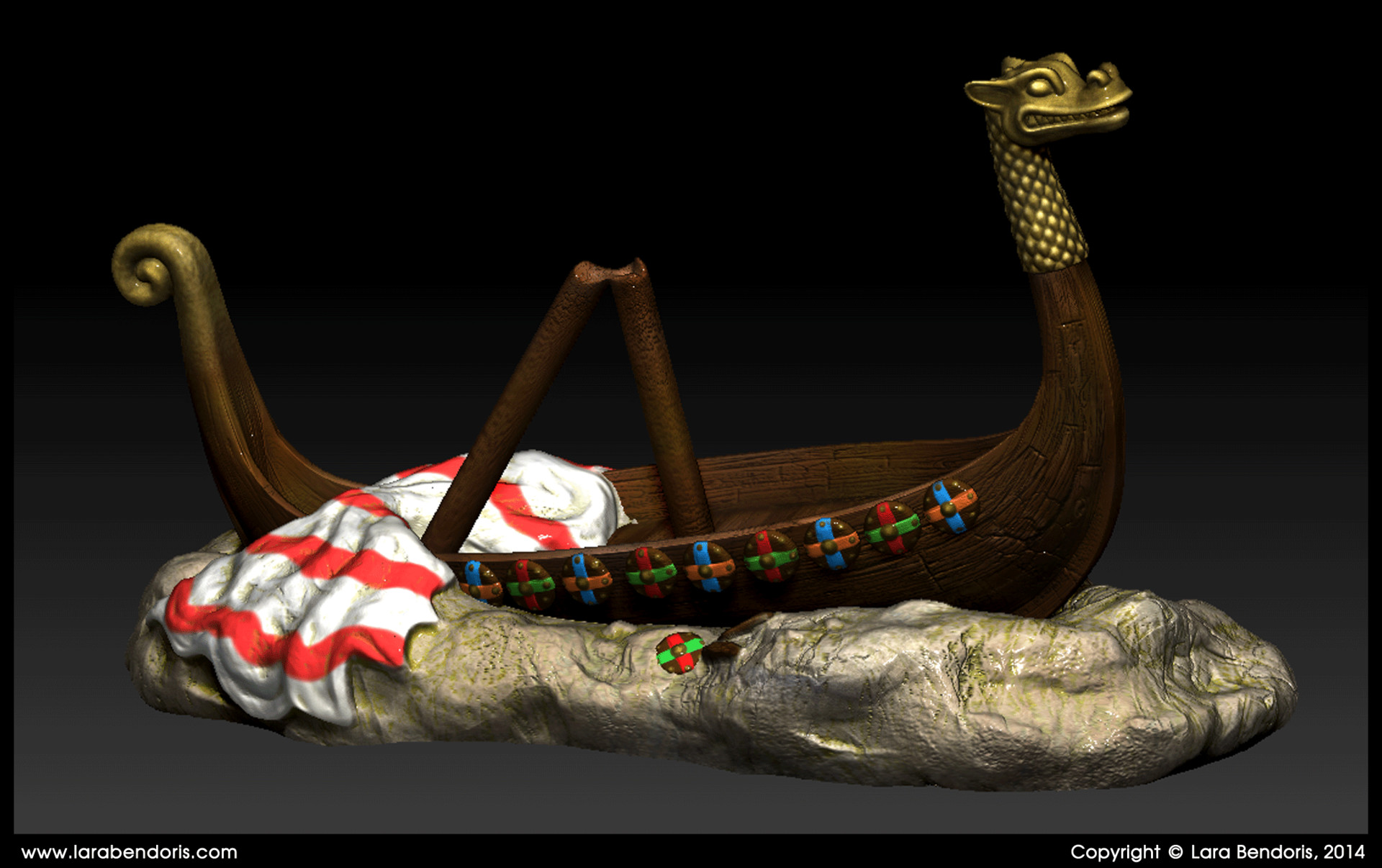 Lara bendoris vikingship