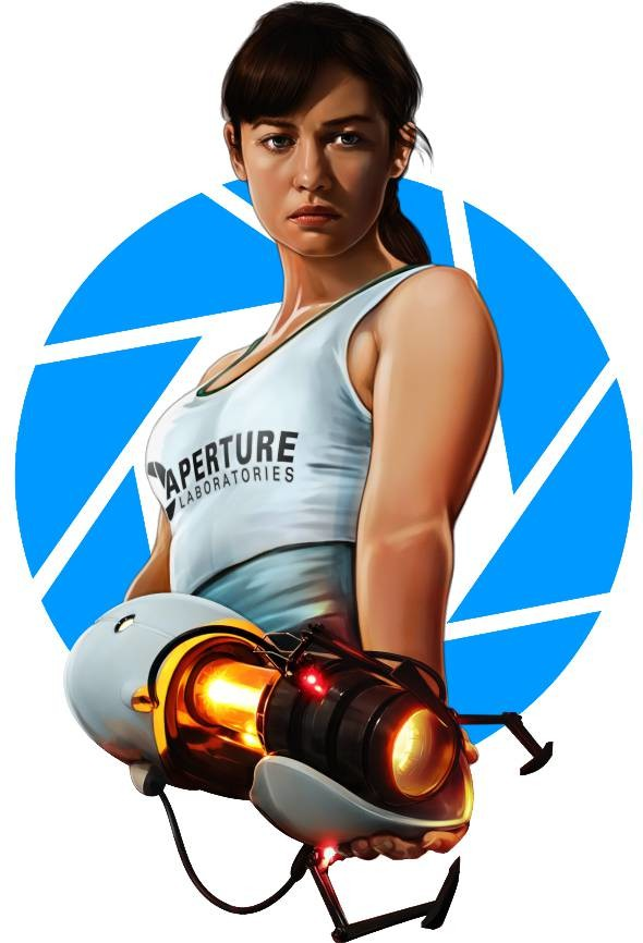 Chell From Portal 2 7 2013