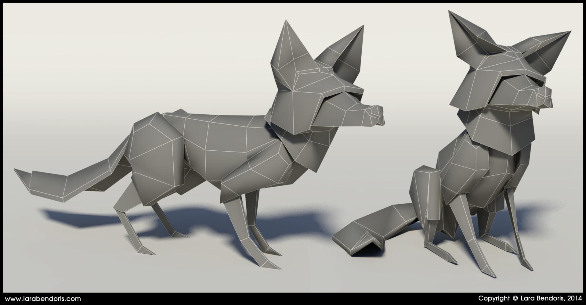 Lara bendoris fox3