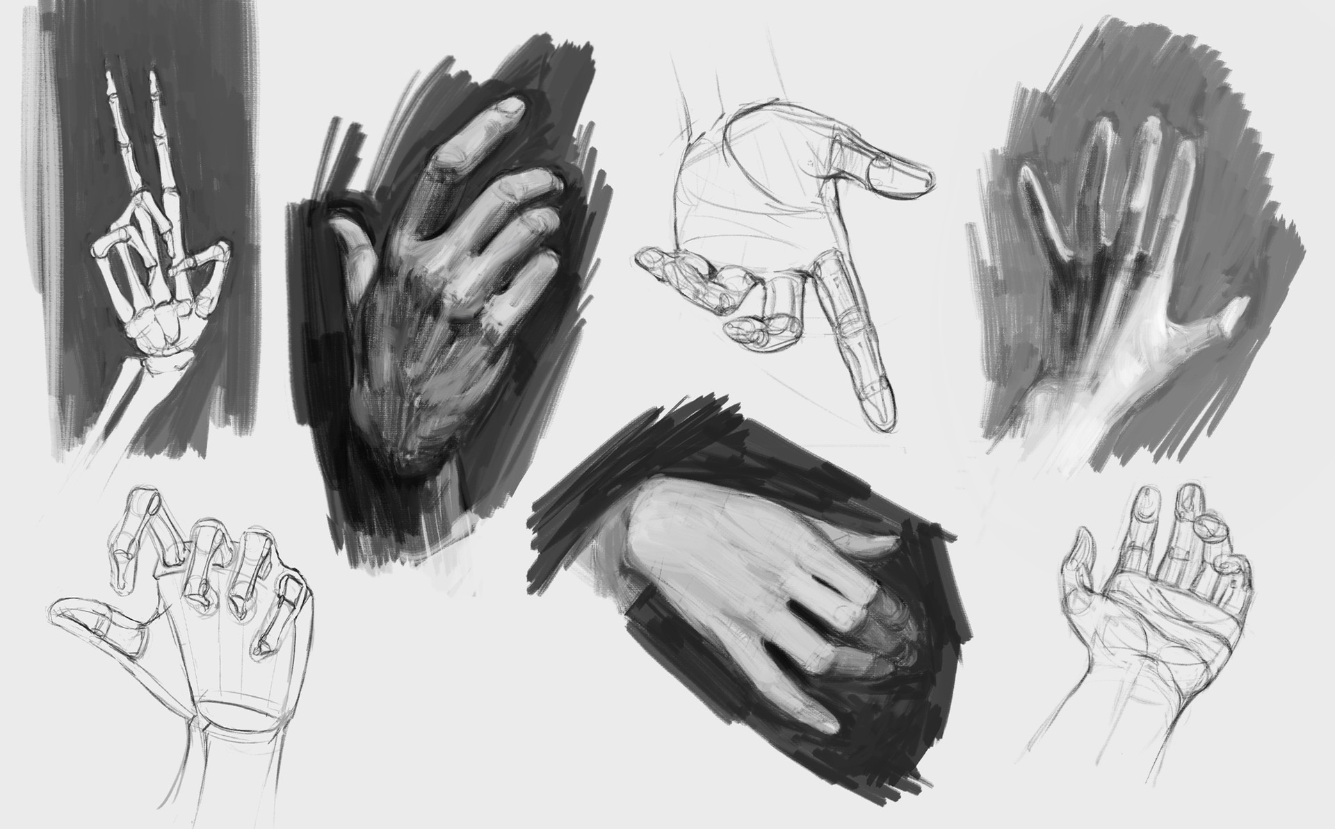 Bram sels hands