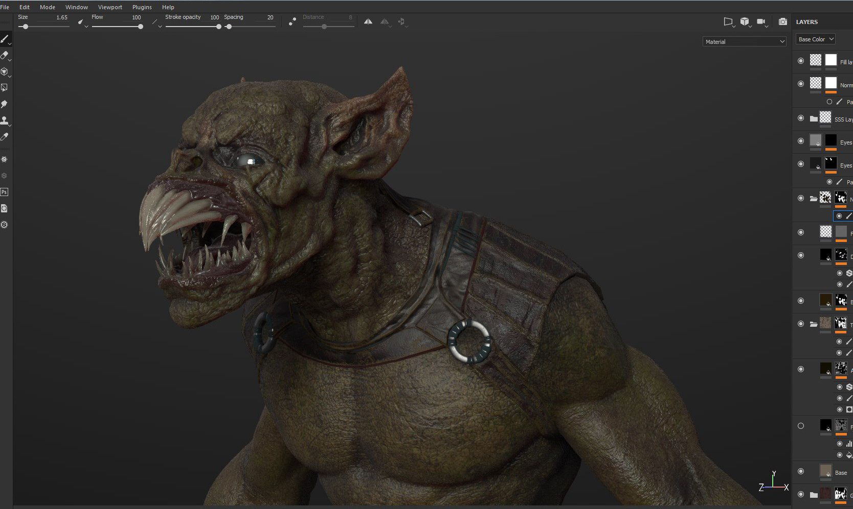 Substance painter Screenshot