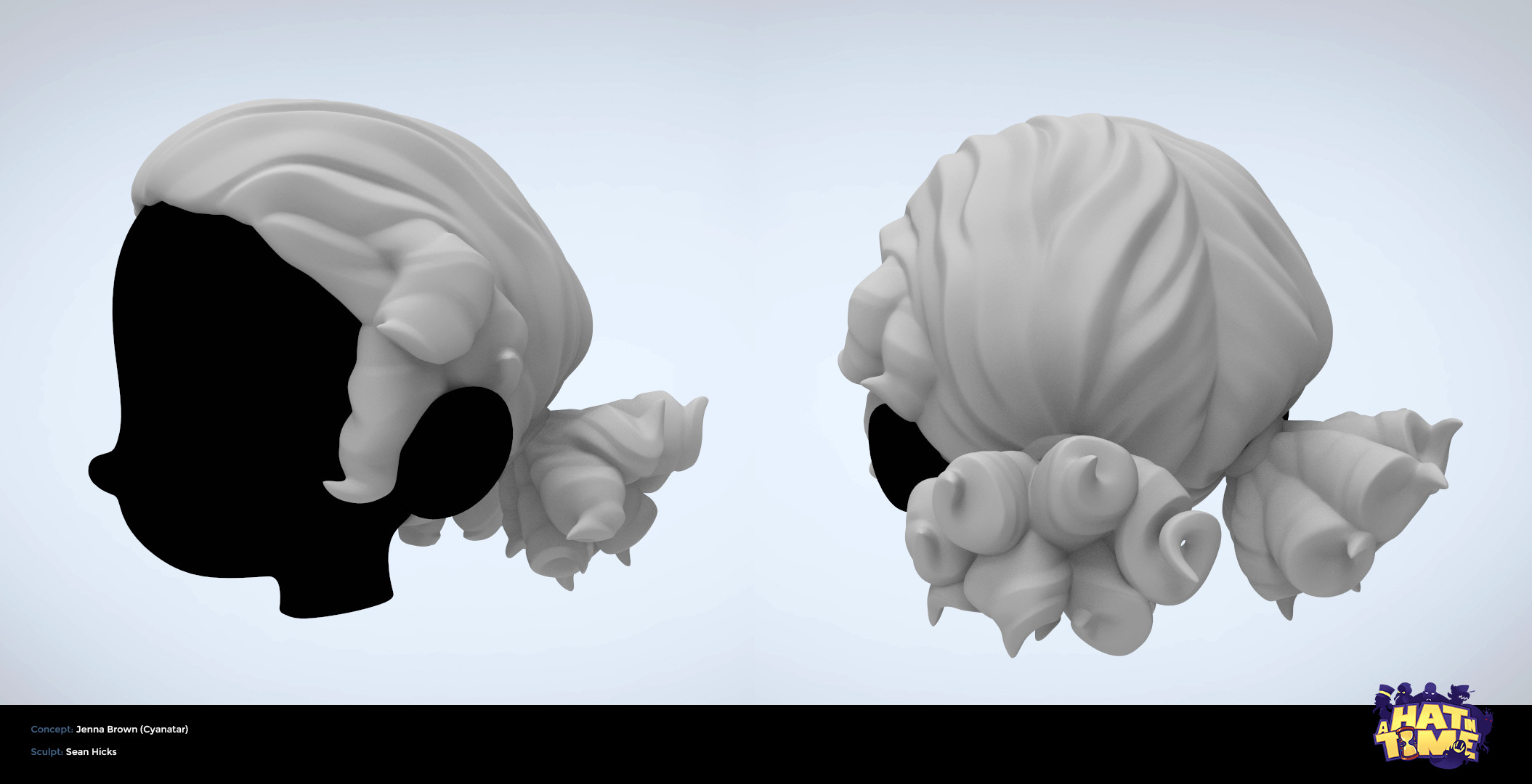 Sculpt made for baking & retopology for the game-res mesh.