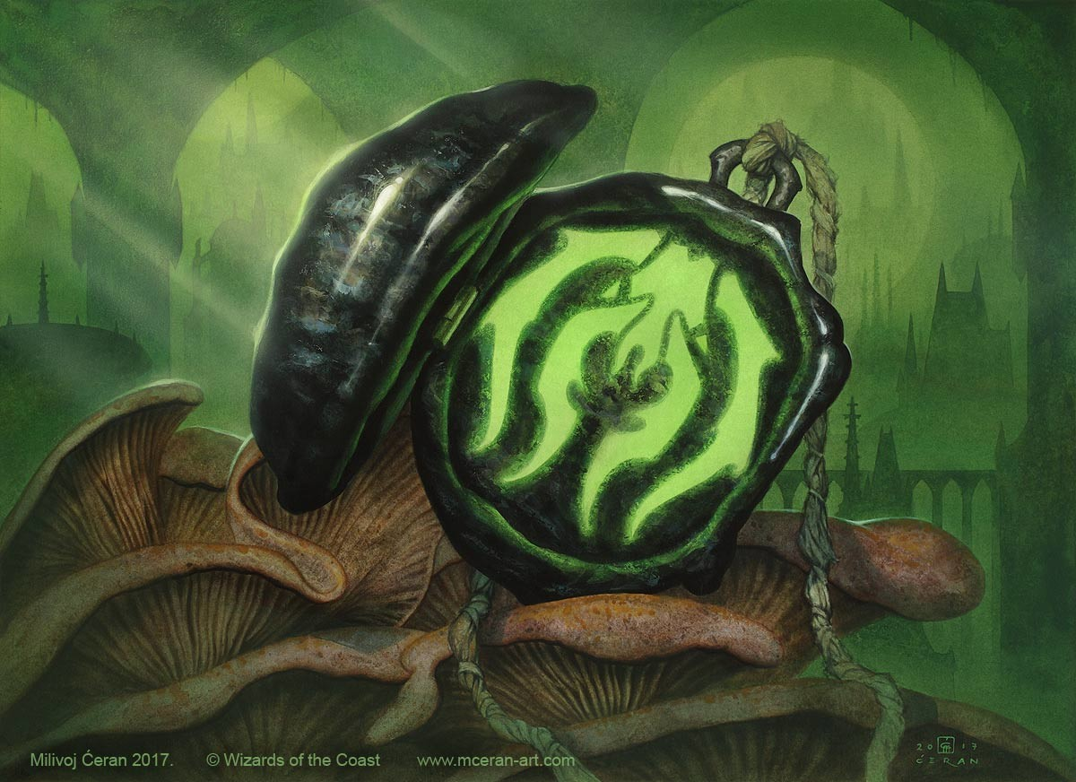 "- ""Golgari Locket"", Milivoj Ćeran, 2017.