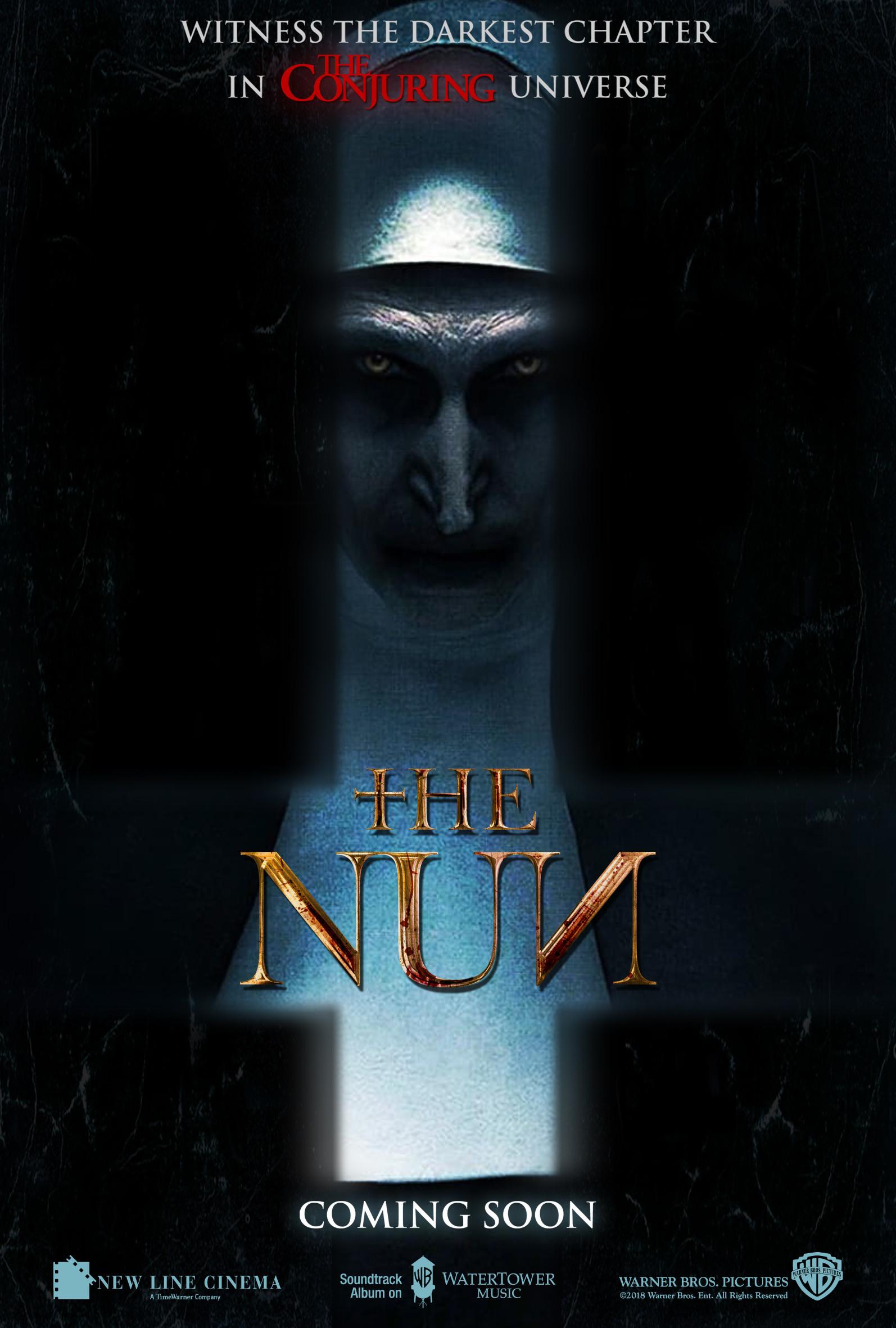 Chris rena the nun antichrist poster v2
