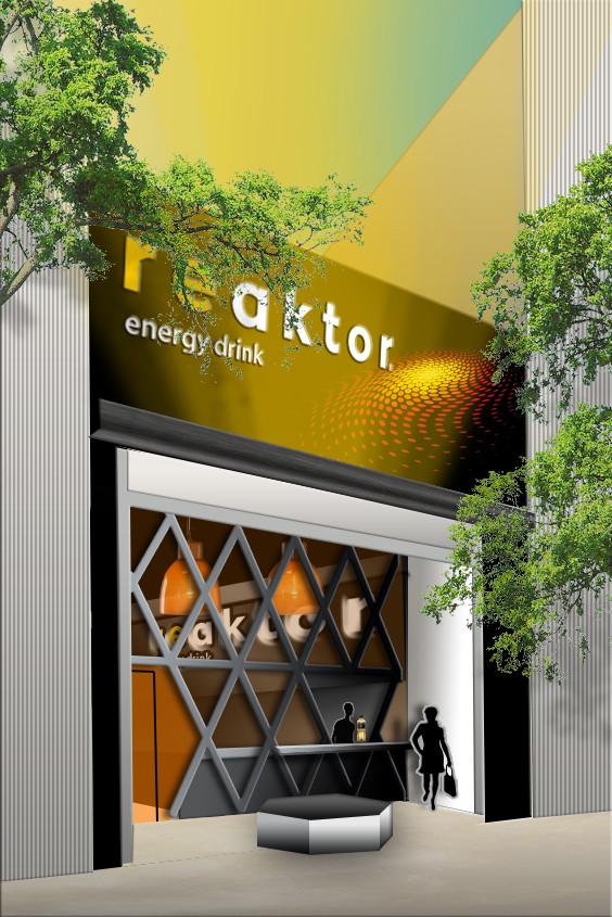 DA concept-store 2D  REACTOR par Auduge dit ALACASA