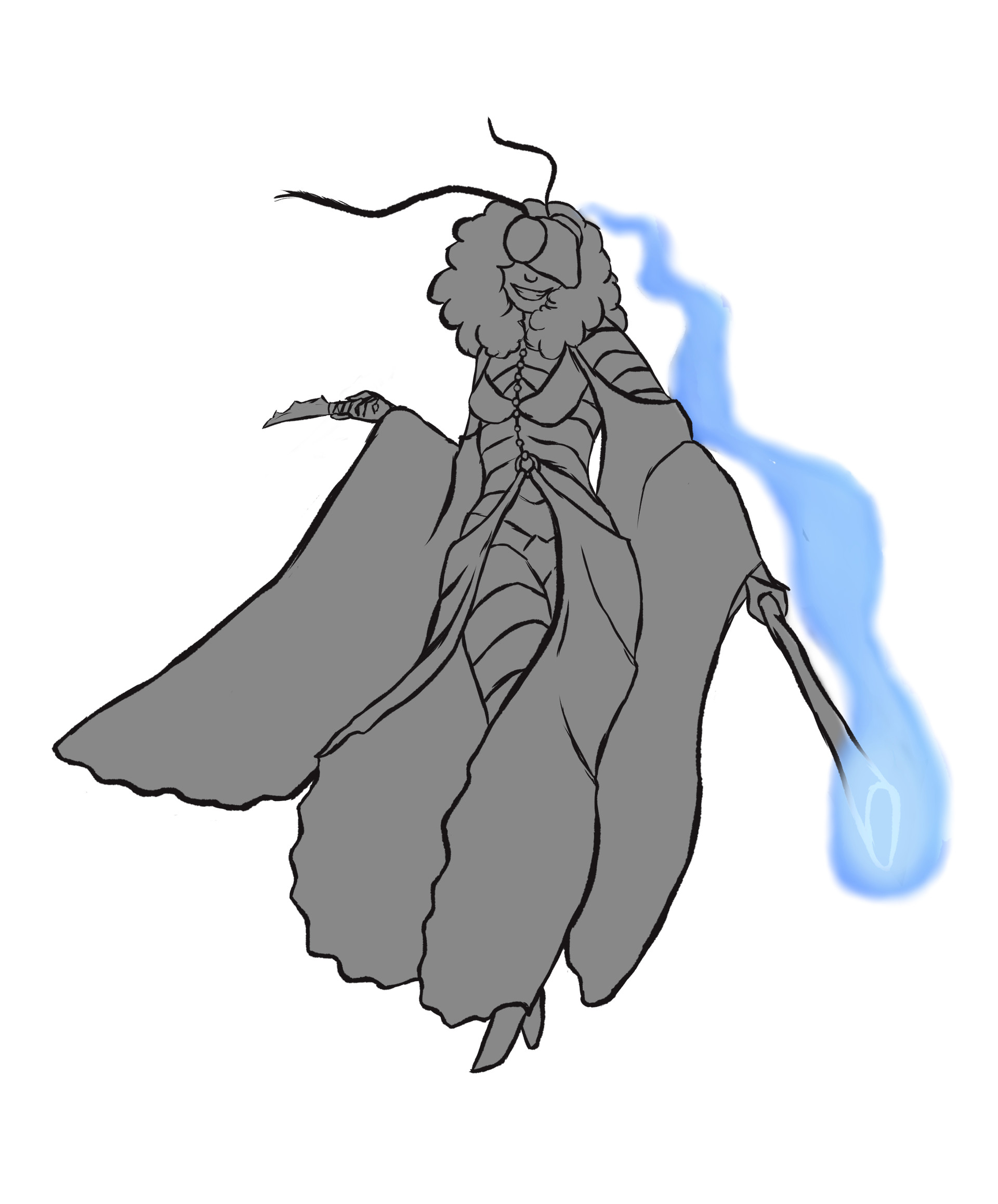 Jessi olney black witch moth rough