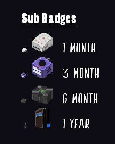 ArtStation - Twitch tv Kaur Sub Badge Icons, Kevin Butler