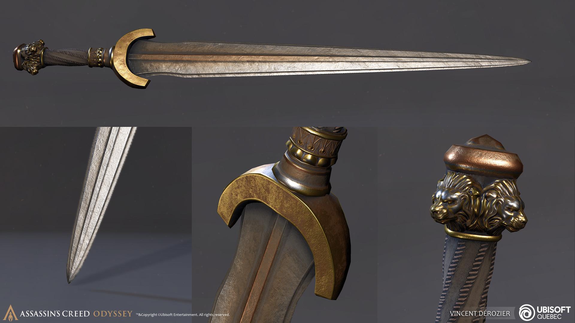 Vincent derozier props sword 3