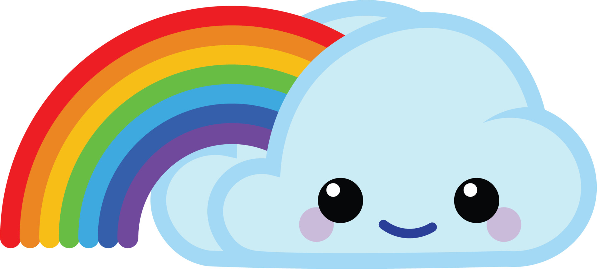 Glenn melenhorst happy cloud rainbow