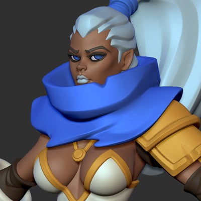 Mercurial forge zbrush 2018 09 14 23 48 52