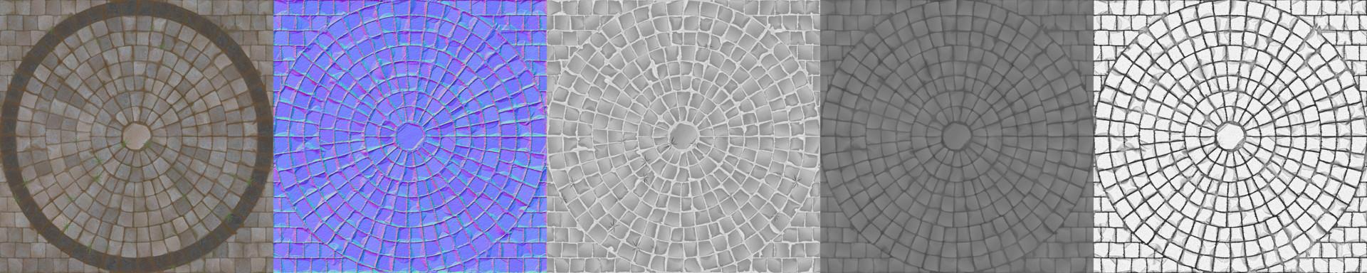 Markus pichler cobblestone textures