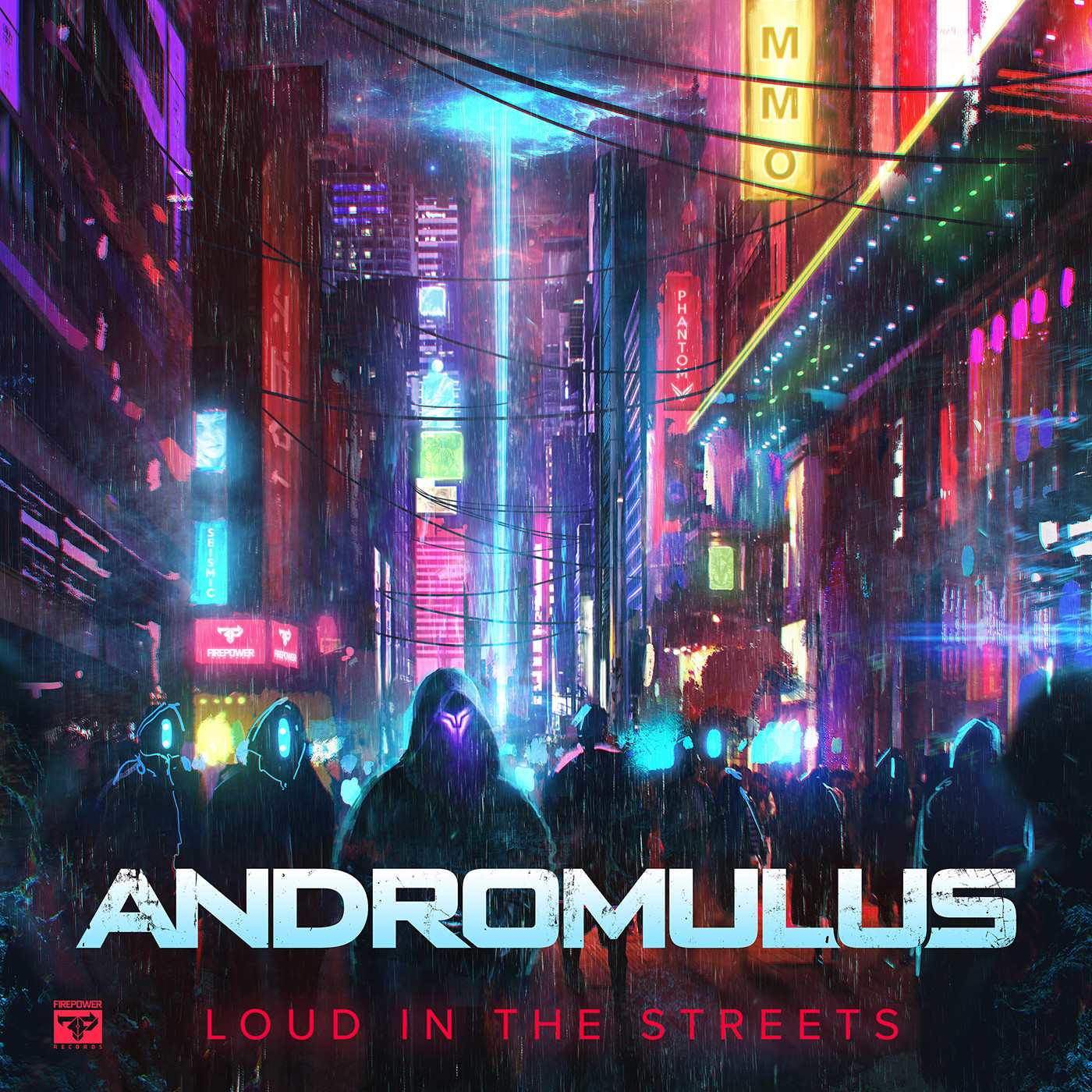Eric hallquist andromulus loud in the streets art 1400