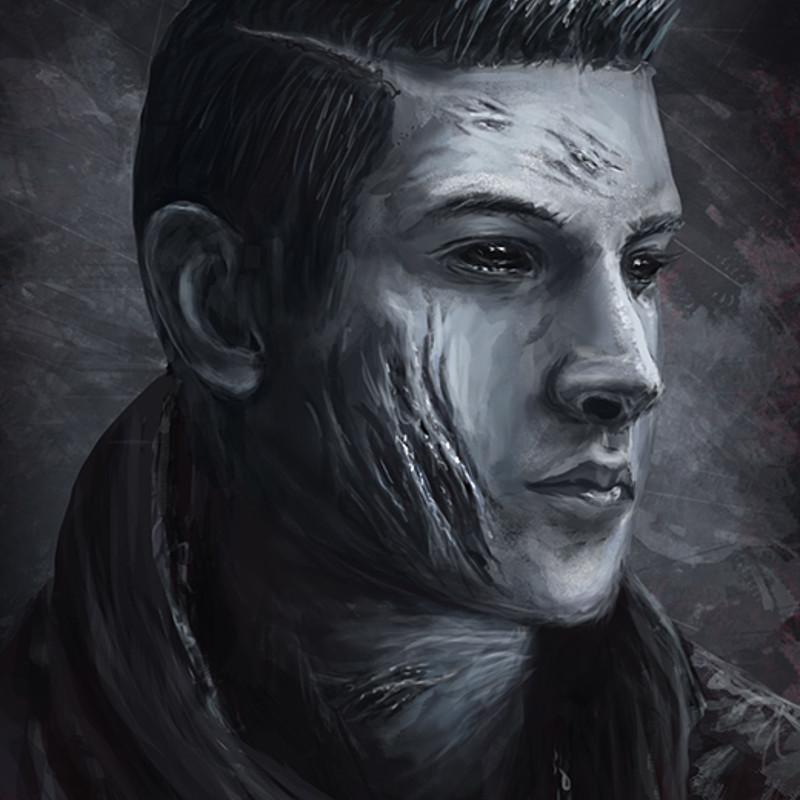 Evil Self Portrait
