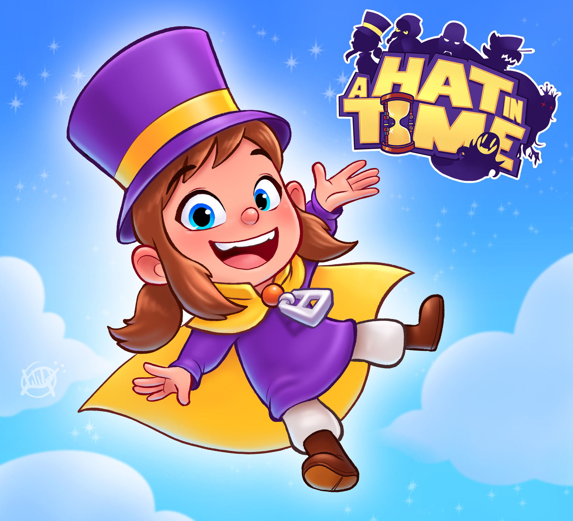 Luigi lucarelli a hat in time art