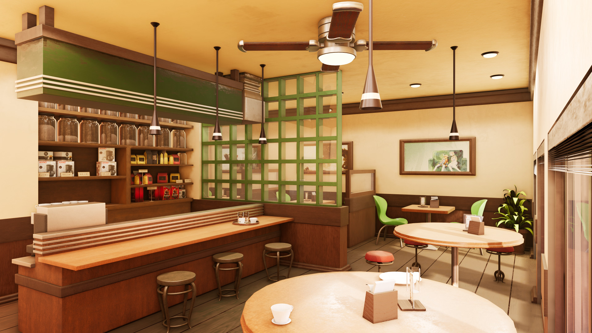 Amanda Ejiri Coffee Shop Modeling Project