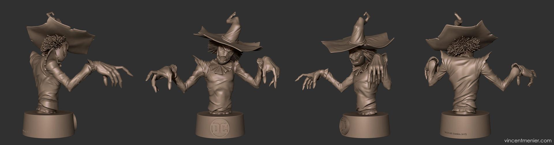 Vincent menier scarecrow final turn