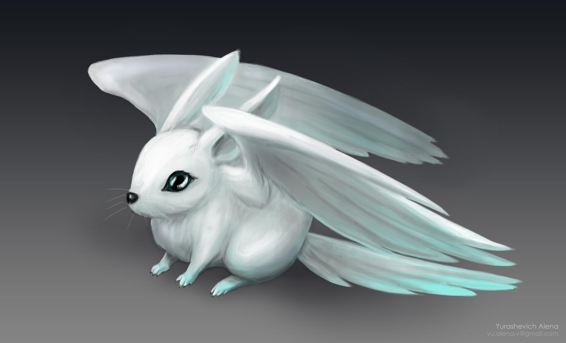 Cute Creature Concept Art