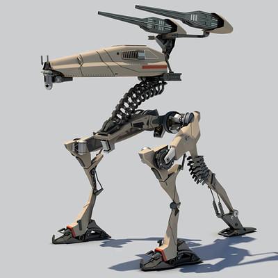 Mario merino tripod robot 02