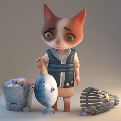 Soojung ham cat and fishbird main