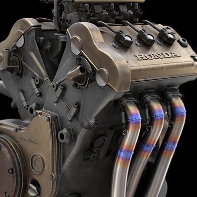 Ying te lien rc211v engine