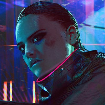 Layne johnson cyberpunk ravefight