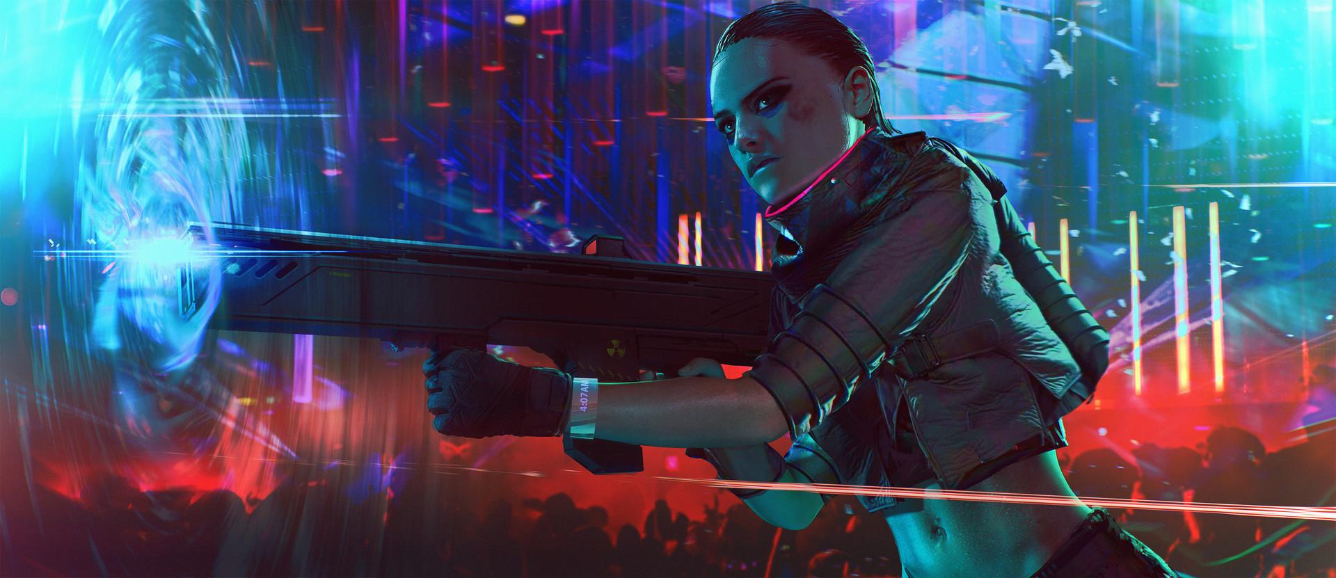 Layne johnson cyberpunk ravefight