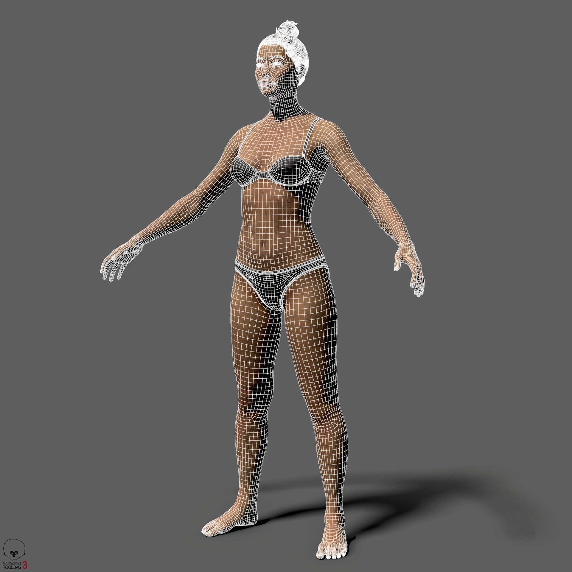 Alex lashko averageasianfemalebody by alexlashko wires 01