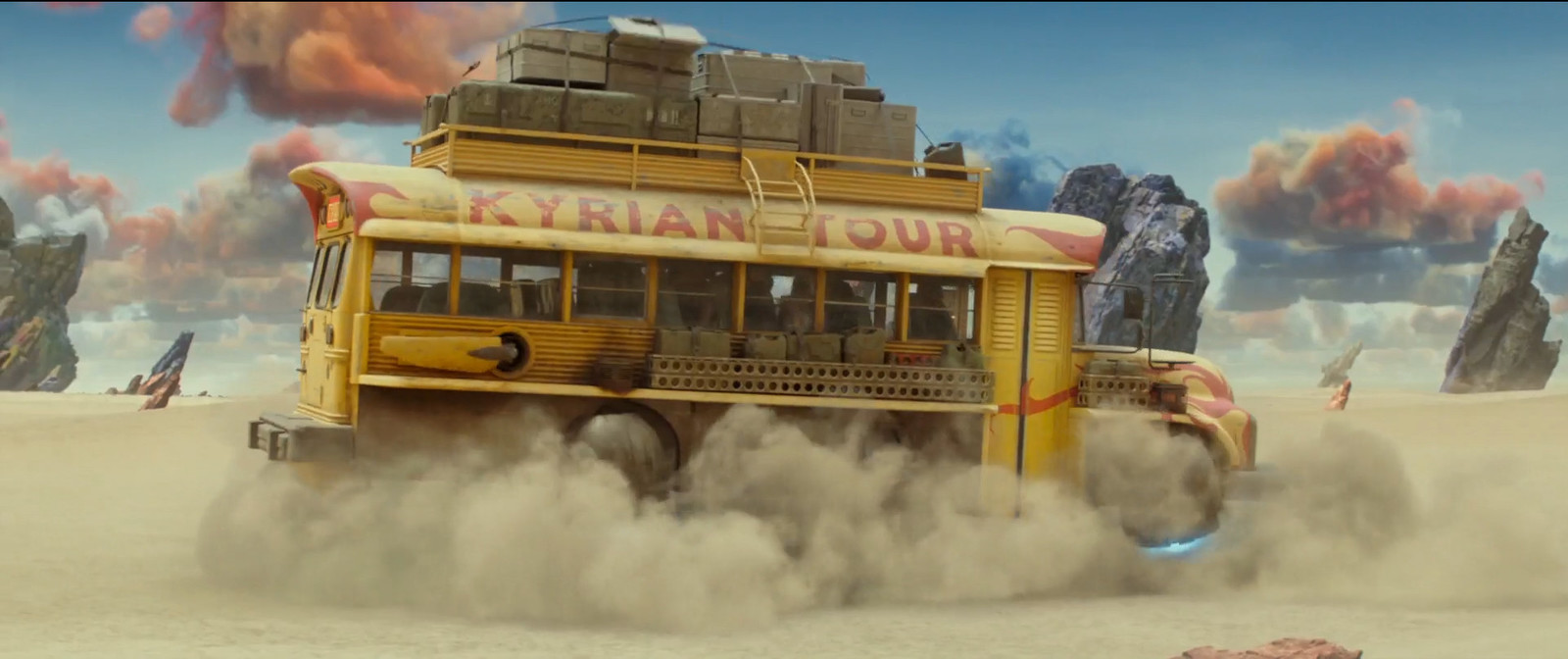 (Valerian: City of a Thousand Planets - ILM) Combat Bus - Modelled both Tourist and Combat variations of the bus