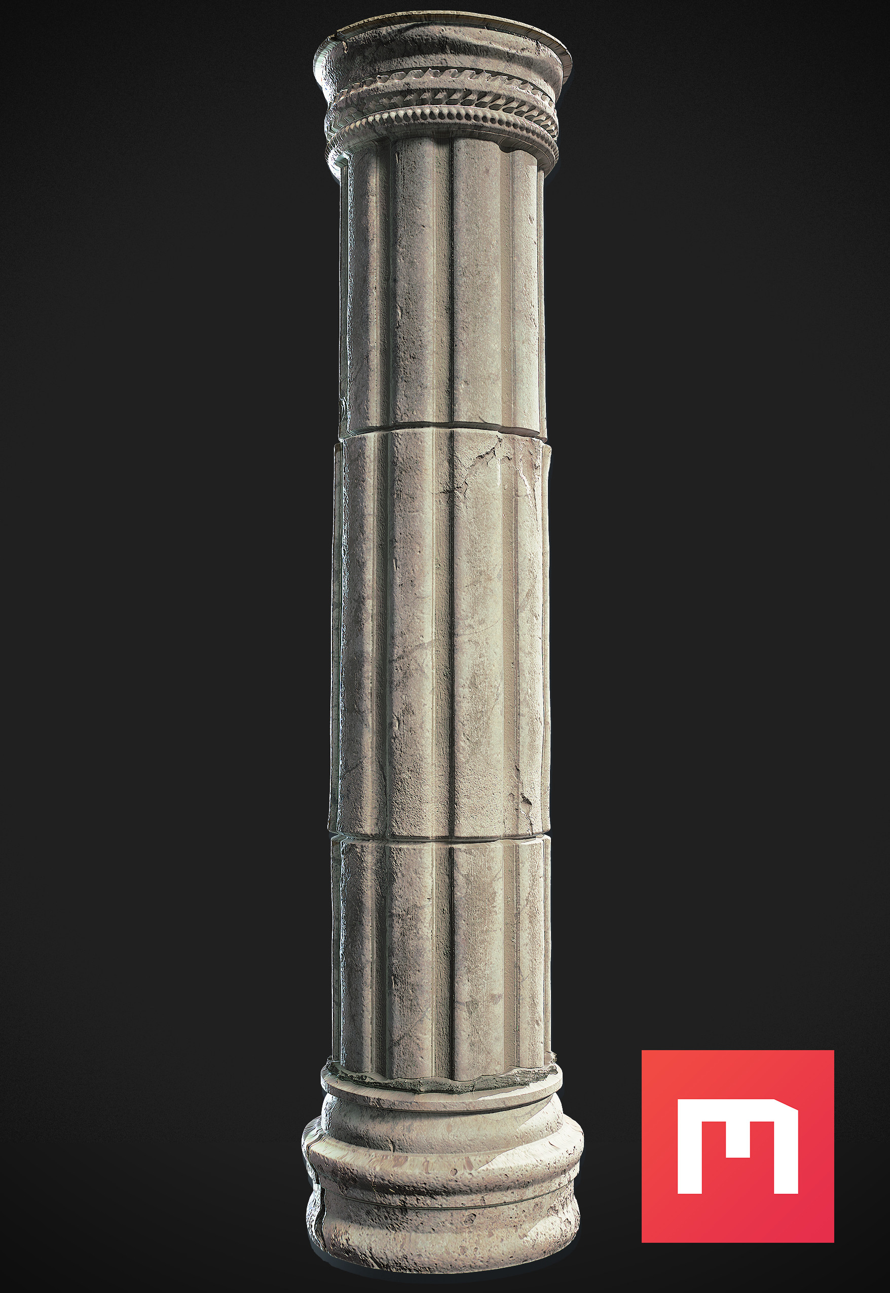 Wiktor ohman ancient pillar 2