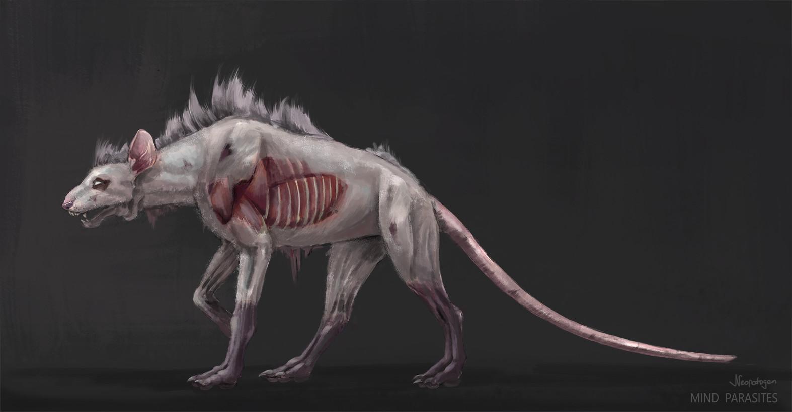 Stray creature concept