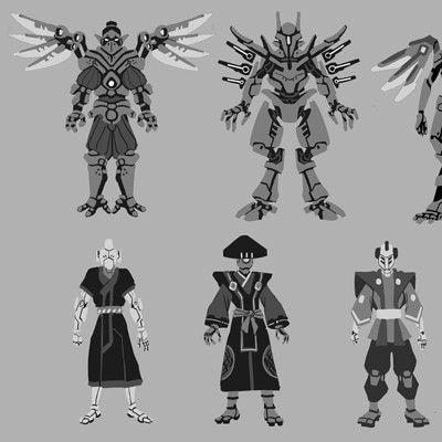 Miguel angel perez lopez 12 blades characters 02