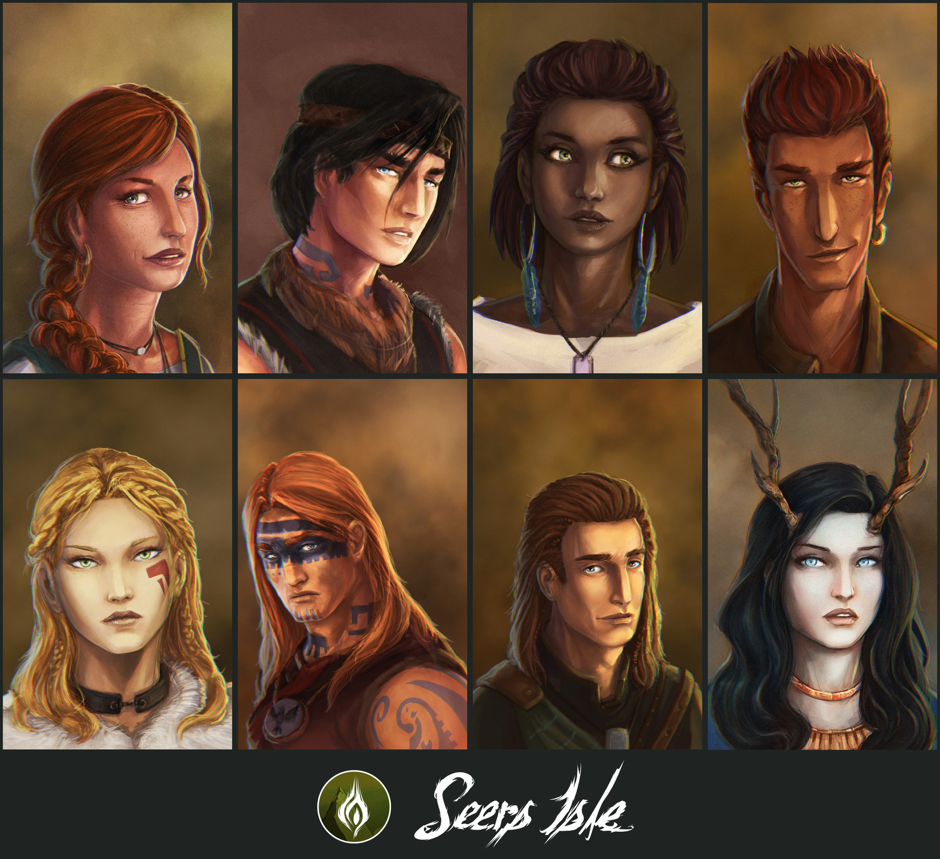 Ludovic rivalland characters seers final
