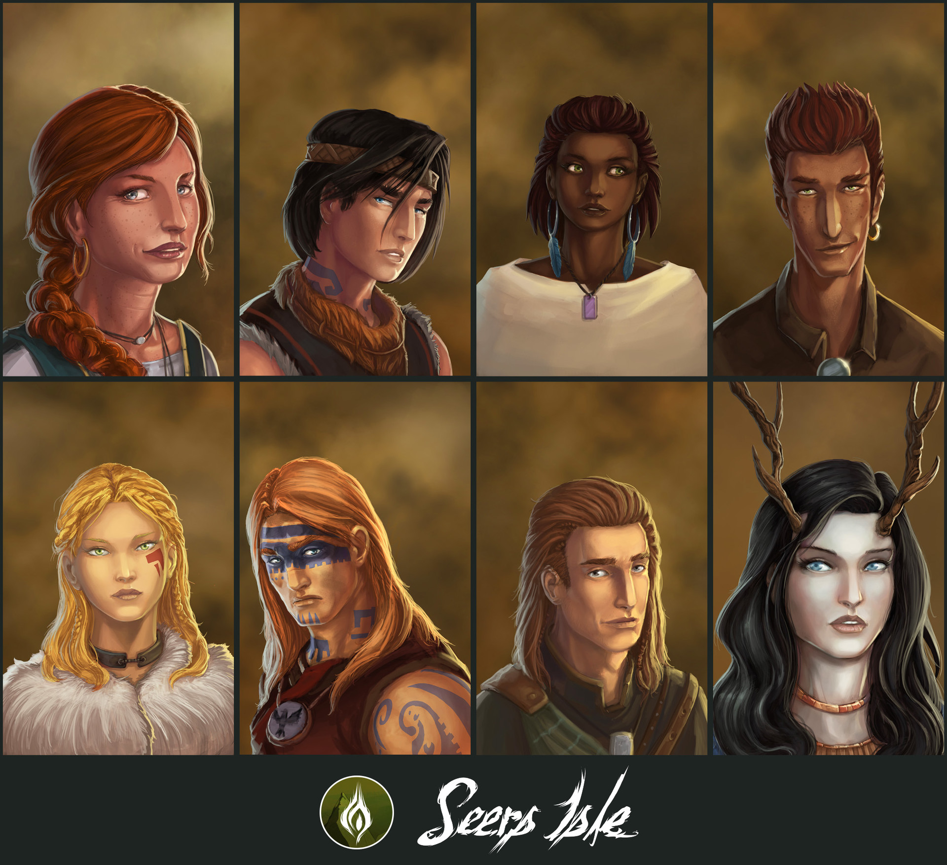 Ludovic rivalland characters seers colors