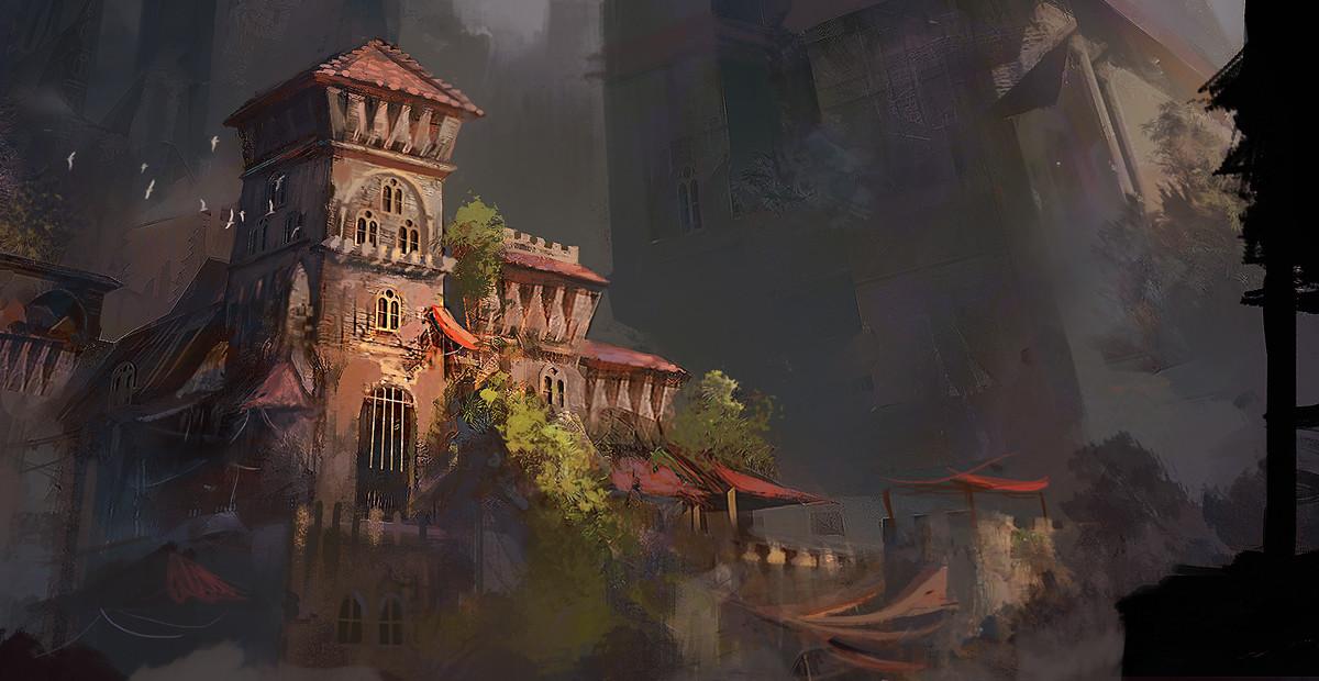 Consuelo pecchenino castle