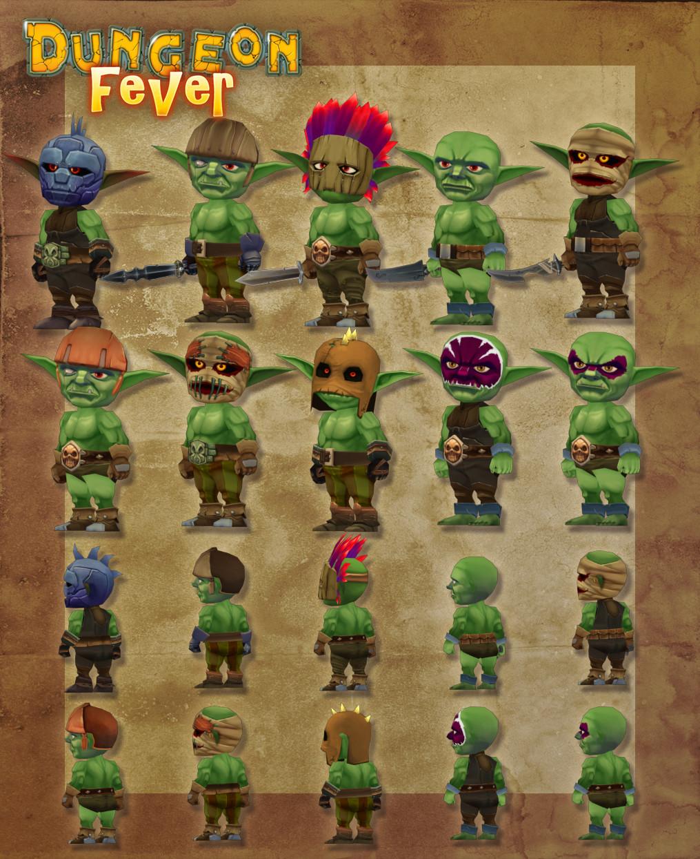 Ludovic rivalland ludovic rivalland 3d goblins