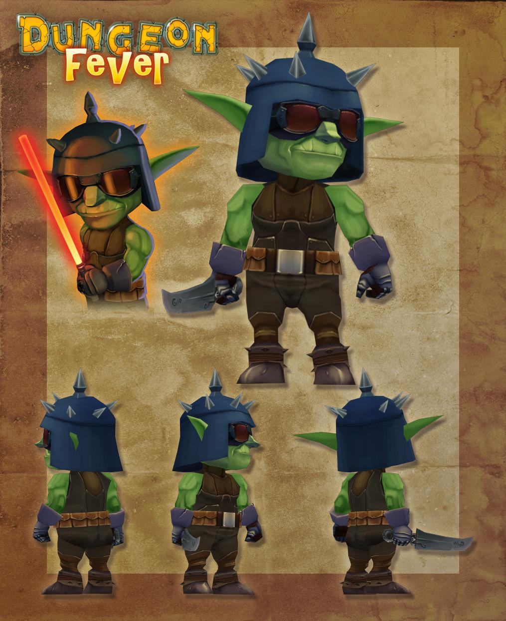 3D Dark Goblin Vador