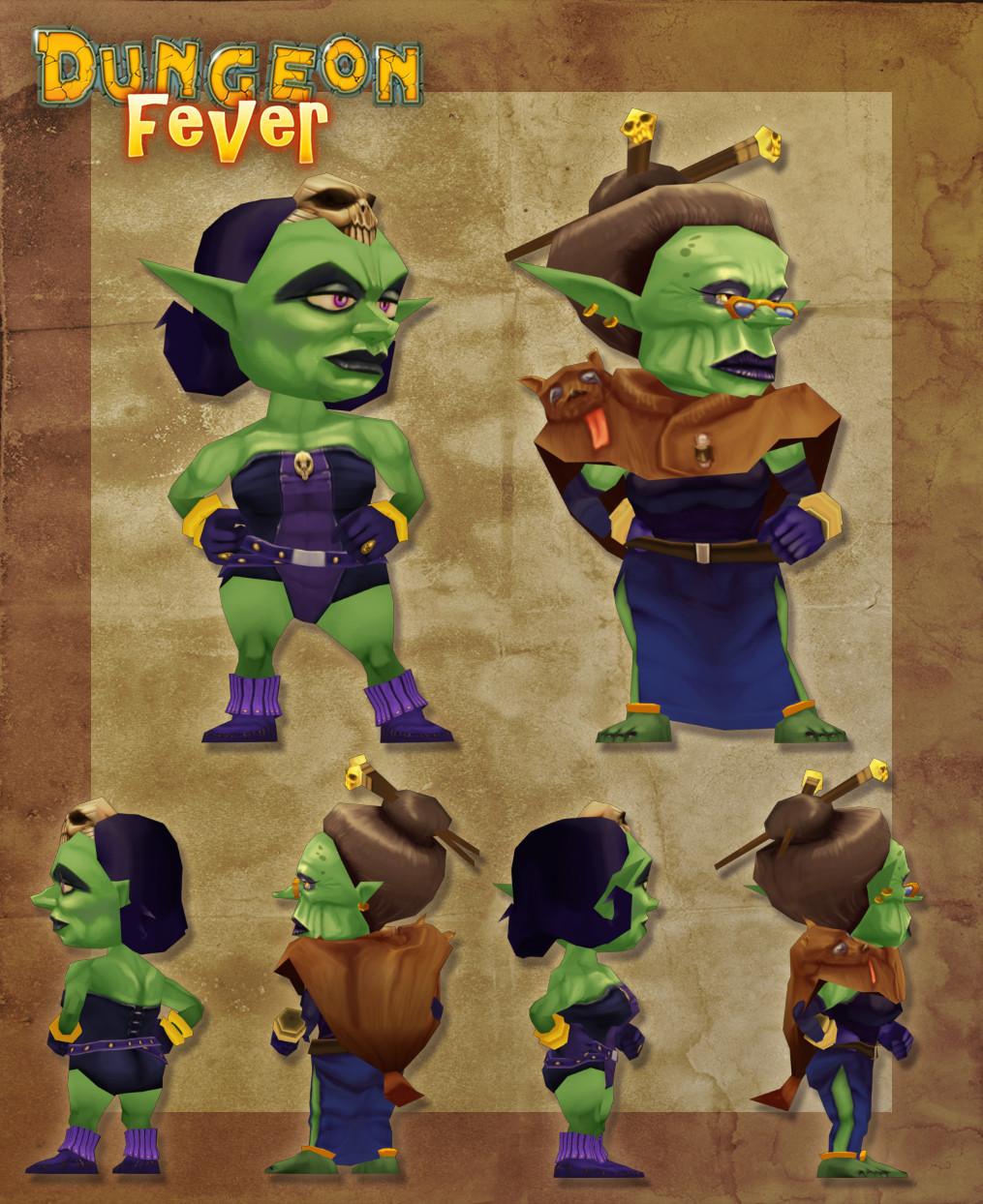 3D female goblins