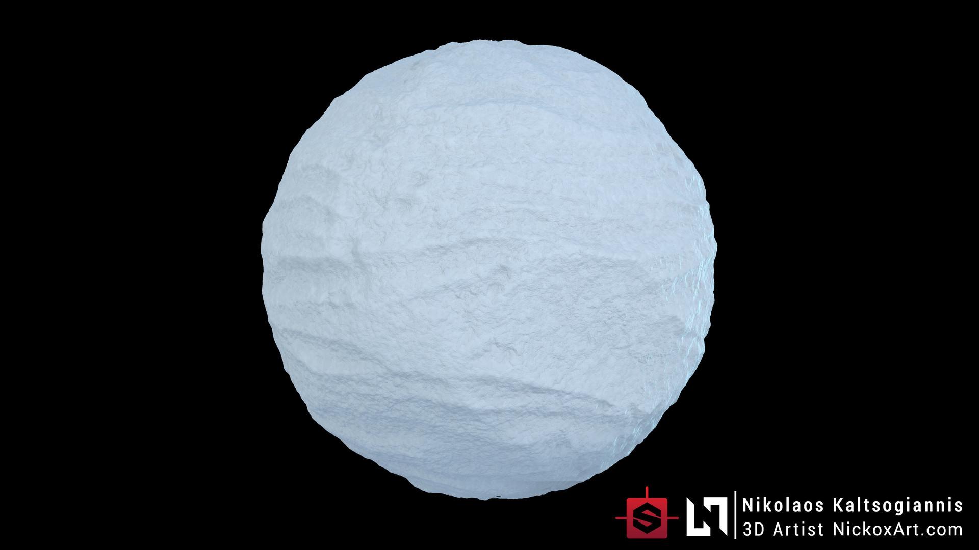 Nikolaos kaltsogiannis snow material 04