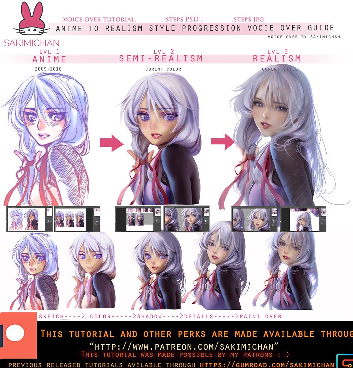 Sakimi chan style procression voice over tutorialpromo