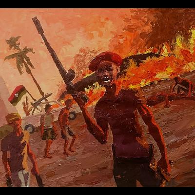 Mathieu lafay guerre libye kadafi couteau lafay