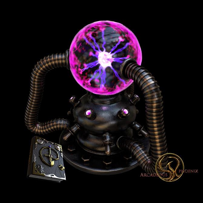 Arcadeous phoenix tesla power sphere